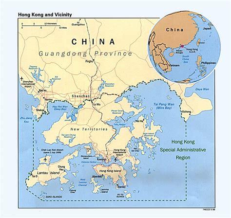 map world hong kong hong kong region profile nations project