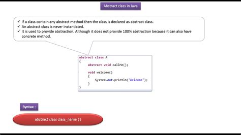 java abstract pattern exle java ee java tutorial java abstract class definition