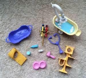 Lps Bathroom Littlest Pet Shop Accessory Lot 11 Pieces Lps Accessories