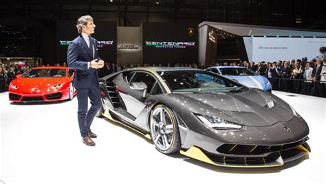 Lamborghini Owners In Philippines With The Centenario Lamborghini Proves It Has Nothing