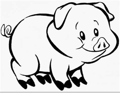 imagenes animales carnivoros para imprimir dibujos de mascotas para colorear cerdito imagenes de