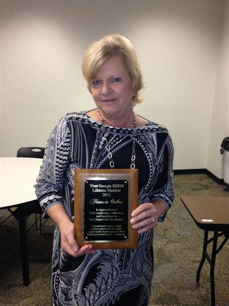Community Relationsbymary Jeanette Hageman lifetime members west shrm