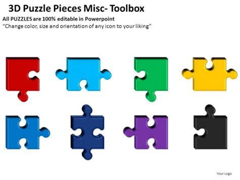 3d Puzzle Pieces Misc Powerpoint Presentation Slides Puzzle Pieces For Powerpoint