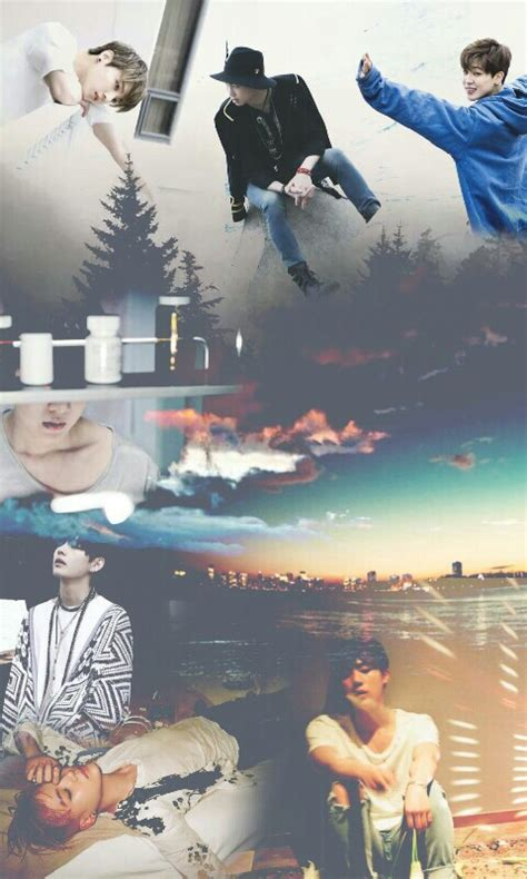 wallpaper bts i need u bts i need you collage we heart it bts jimin and kpop