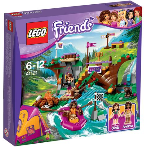 Lego Friends 41121 lego friends adventure c rafting 41121 toys zavvi