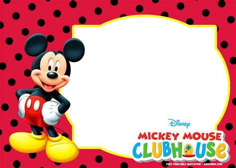 invitation layout mickey mouse mickey mouse invitation template images template design