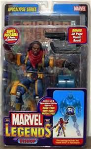 marvel legends bishop long hair dec 2005 action figure toy biz
