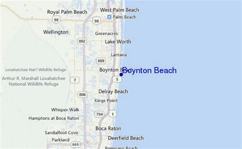 map of florida boynton boynton surf forecast and surf reports florida