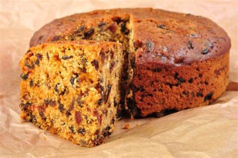 Light Fruit Cake Light Cake Recipe