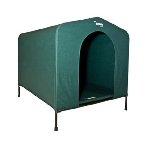 canvas dog house hound house canvas dog kennel small green