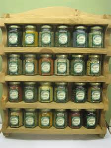 spice rack with spices spice rack with 24 filled glass jars the rye spice co ltd