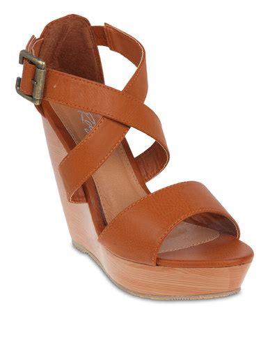 rage sandals rage wooden wedge sandals zando