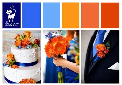 17 best ideas about blue orange weddings on autumn wedding themes wedding colors