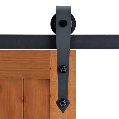 barn door rail kit winsoon modern 4 doors bypass sliding barn door hardware