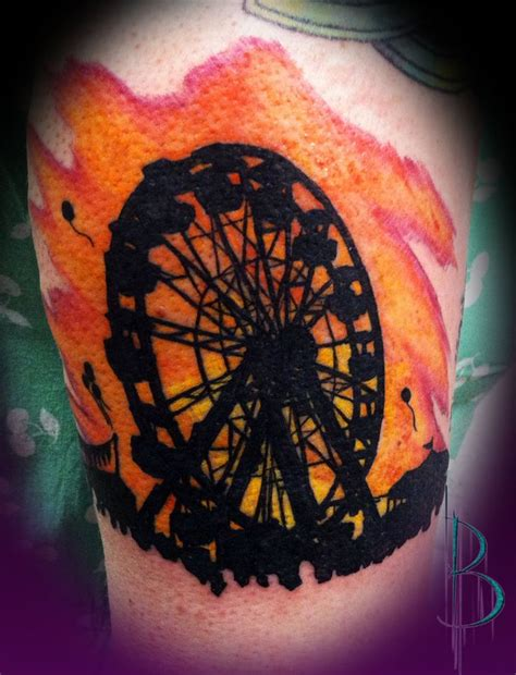 wheel tattoo ferris wheel ideas