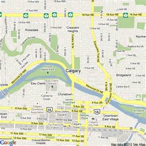 map of canada calgary map of calgary canada hotels accommodation