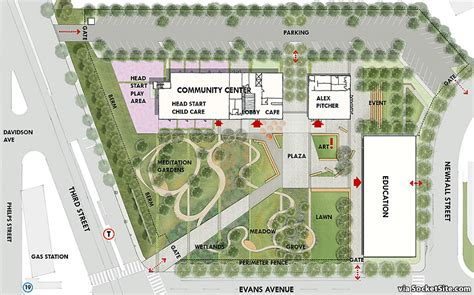 socketsite plans for a new community center open space