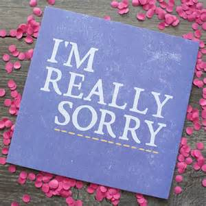 really sorry card by zoe brennan notonthehighstreet