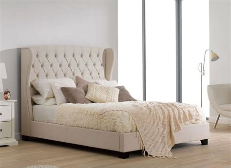 beds and bed frames best 25 upholstered bed frame ideas on grey