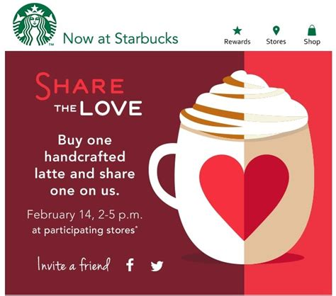 What Is A Handcrafted Drink At Starbucks - a free starbucks drink on valentines day with