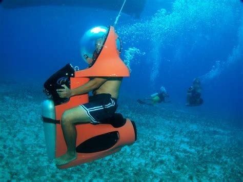 water scooter english cozumel mini sub underwater scooter excursion