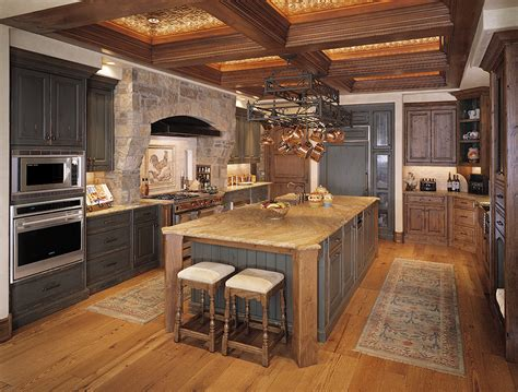 Kitchen Copper Backsplash by Tuscan Home Plans For City Dwellers Travels