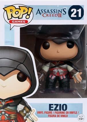 Funko Pop Ubisofts Assassins Creed Ii Ezio funko pop assassin s creed checklist set info exclusives