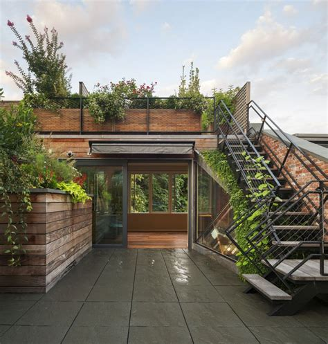 house plans with roof deck terrace green roof patio home open space urban gardening