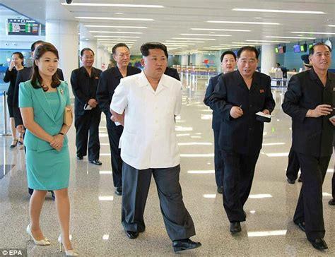 Jo In Health M Intl jong un opens pyongyang s new international airport