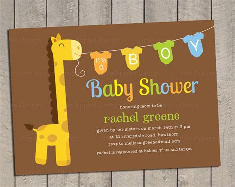 onesie invitation templates  sample