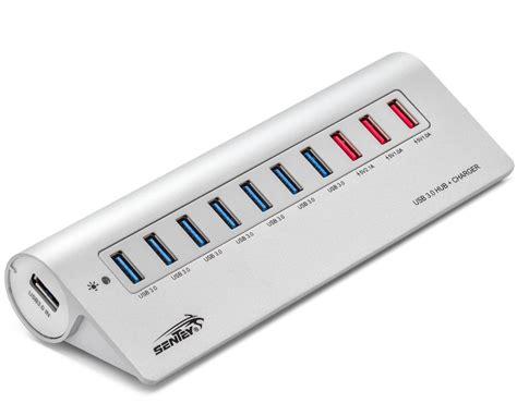 Sentey Aluminium 10 Ports USB 3.0 Hub » Gadget Flow