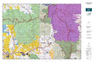 colorado big unit map colorado gmu 18 map mytopo