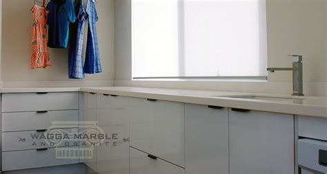 laundry bench tops wagga marble granite