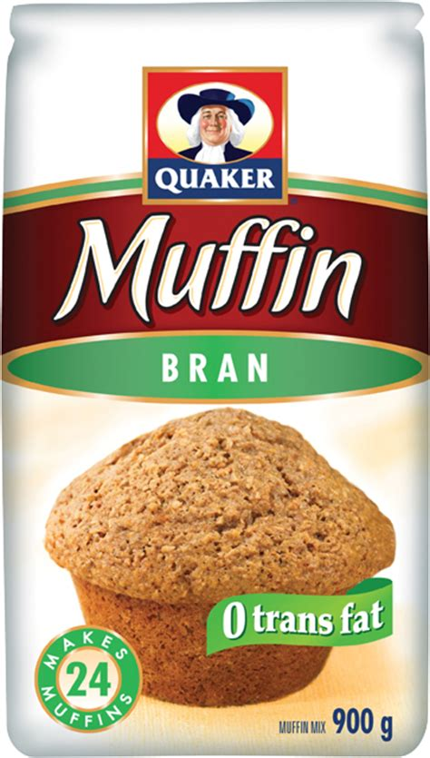 quaker bran muffin mix quakeroatsca