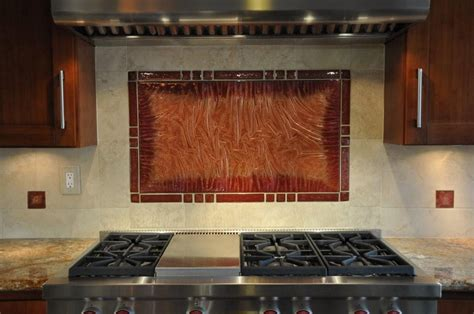 stove tile backsplash cabo artglass 187 stove backsplash