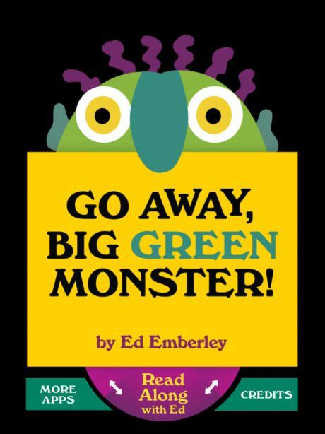 go away green 17 best images about go away big green monster on