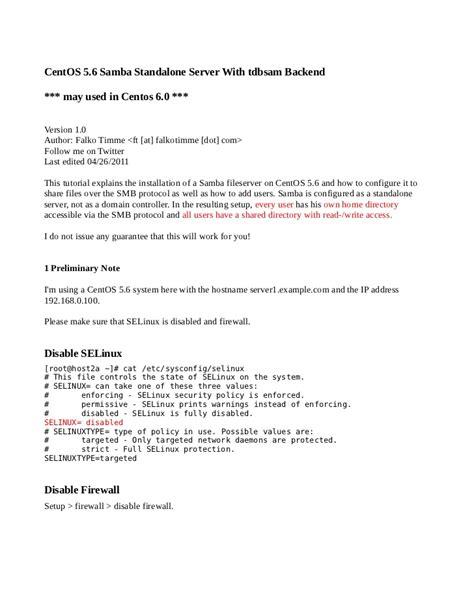 tutorial docker rhel samba tutorial