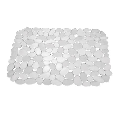 Clear Sink Mat by Mojolondon Pebble Sink Mat Clear