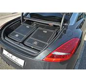 Peugeot RCZ Enhanced With New Exhausts And Custom Luggage