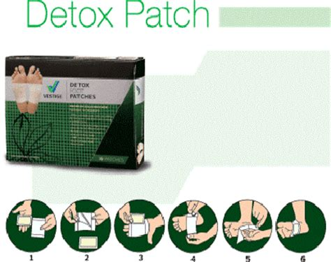 Vestige Detox Foot Patches by For The Beautiful You Vestige Detoxifying Foot Patches