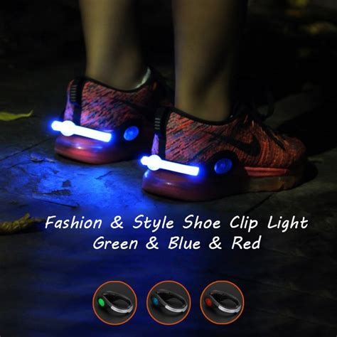 running shoe led lights running shoe lights usb rechargeable clip lights for