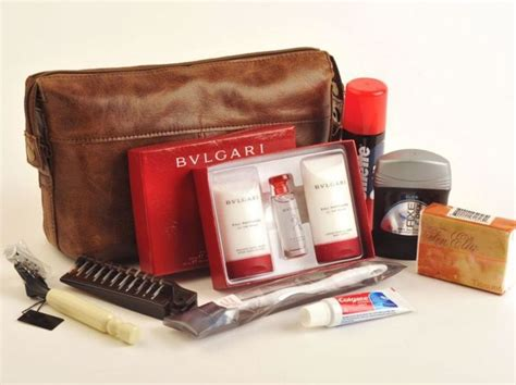 Travel Kit Bvlgari Edition From Emirates Airlines class travel what s inside airline amenity kits