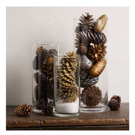 pine cone easy table decoration diyideacenter com