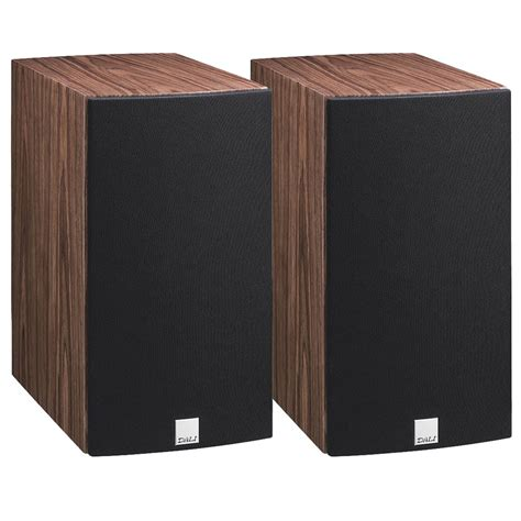 dali rubicon 2 walnut bookshelf speakers pair dali