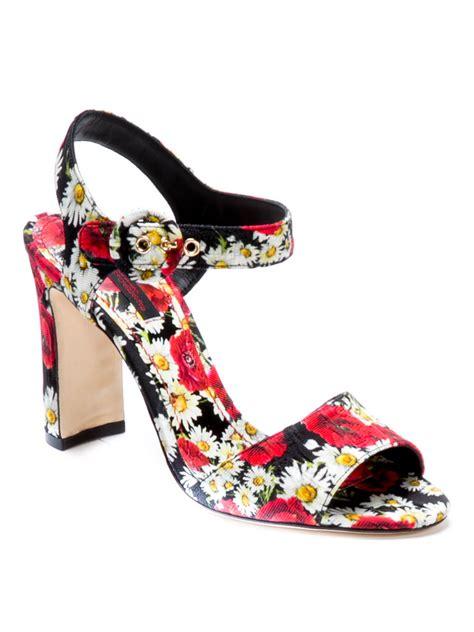 floral print sandals floral print sandals by dolce gabbana sandals ikrix