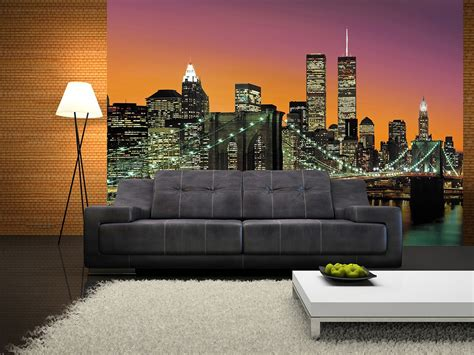 wall murals city new york city wall mural 366 x 254 cm