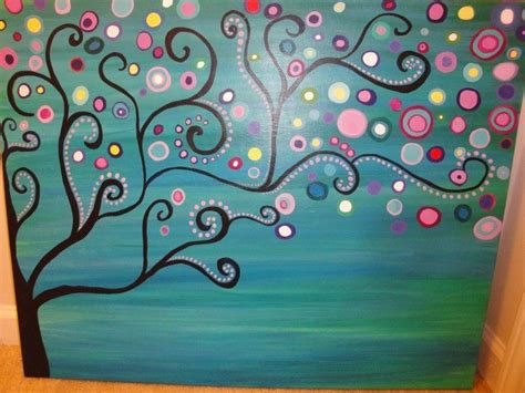 acrylic painting ideas trees large abstract tree acrylic painting painting ideas