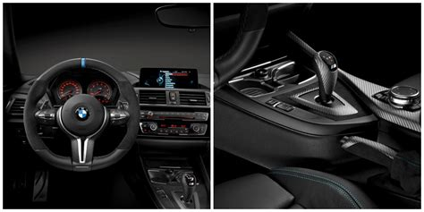 bmw interior parts bmw tricks out m4 coup 233 with new bmw m performance parts