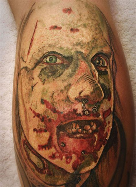 hot zombie tattoo top hot zombie images for pinterest tattoos