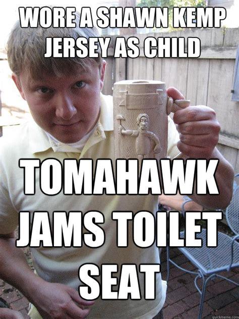 Shawn Meme - shawn kemp jersey memes